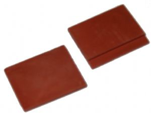 Red - Gable Tile - Dolls House